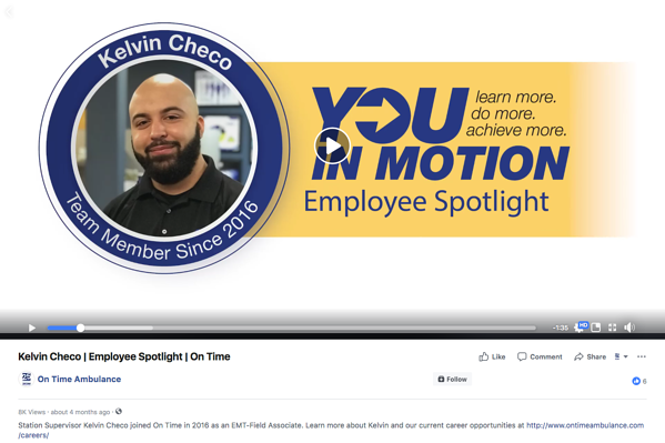 On Time Employee Spotlight