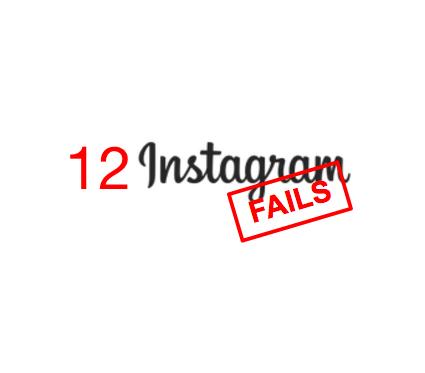 Instagram Fails